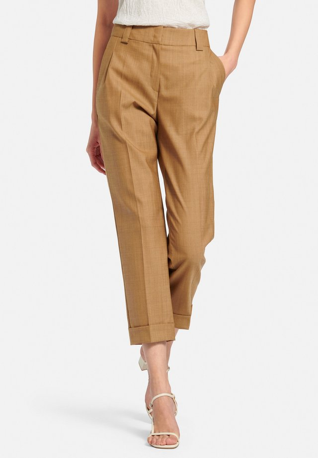 Trousers - haselnuss-melange