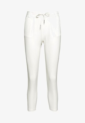 ONLPOPTRASH EASY COLOUR PANT - Trousers - cloud dancer