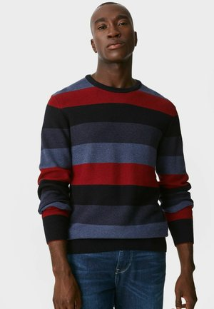 Jumper -  red/dark blue