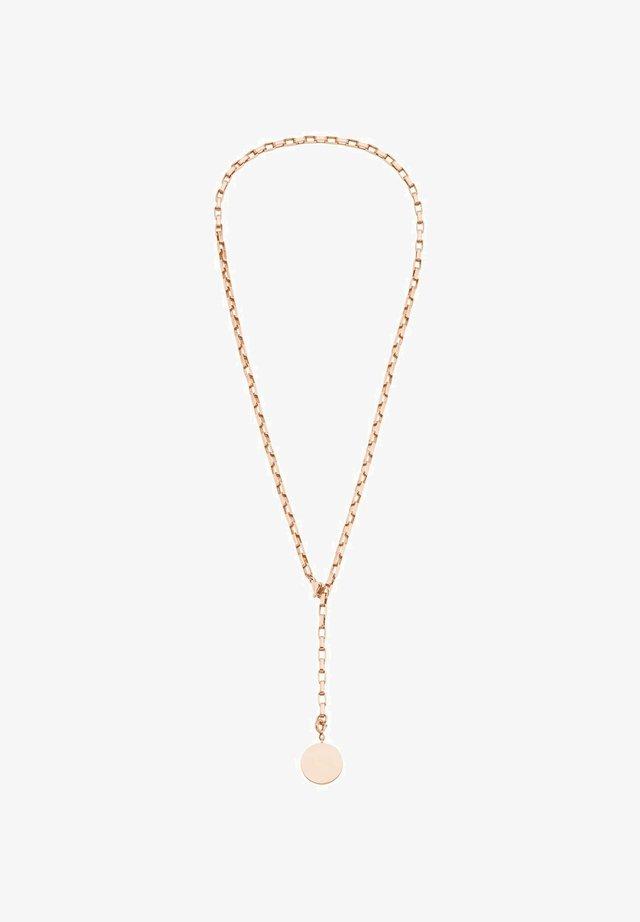 COIN - Necklace - roséfarben