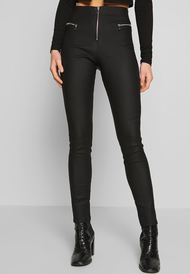 PEARL PANT - Leggings - Trousers - black