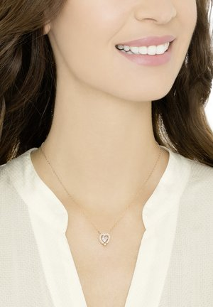 SPARKLING NECKLACE - Necklace - rose gold-coloured