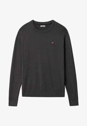 DROZ - Stickad tröja - dark grey solid