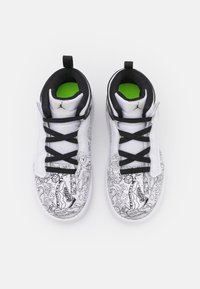 Jordan - 1 MID ALT DIY GT UNISEX - Basketbalschoenen - white/black/volt - 3