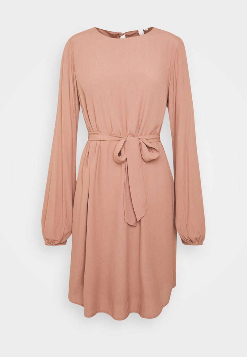 Nly by Nelly - PERFECT BELTED DRESS - Day dress - brown
