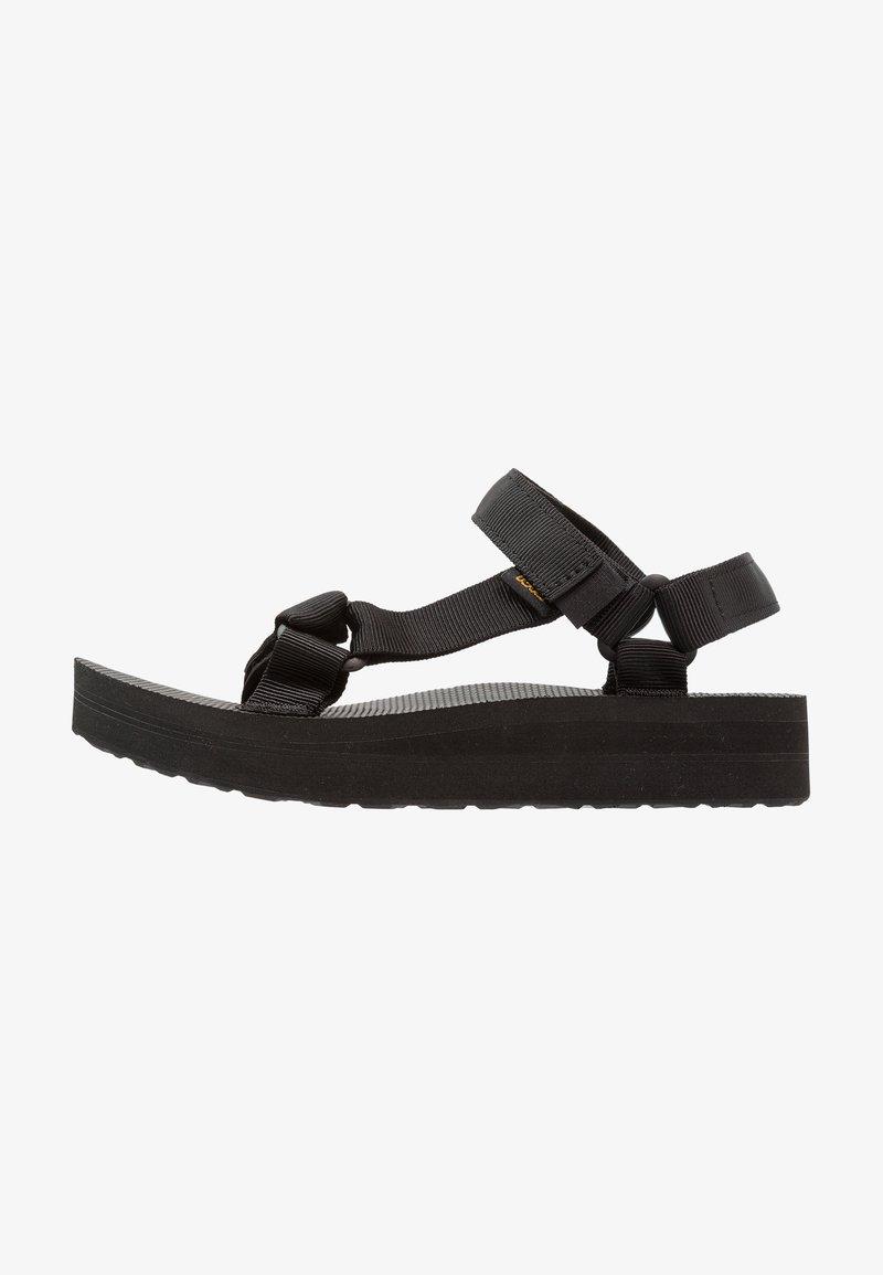 Teva - MIDFORM UNIVERSAL - Chodecké sandály - black