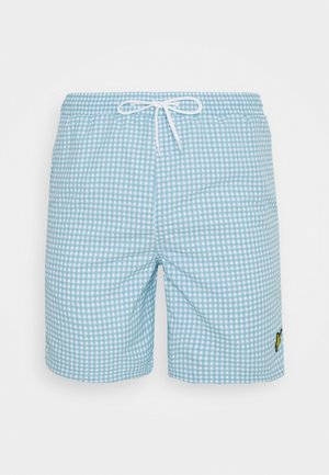 GINGHAM SWIM - Surfshorts - deck blue/ white