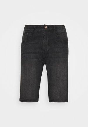 LODGER - Jeansshorts - black used