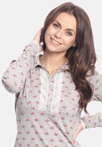 Vive Maria - WINTER TALE  - Pyjama set - grau meliert allover - 3