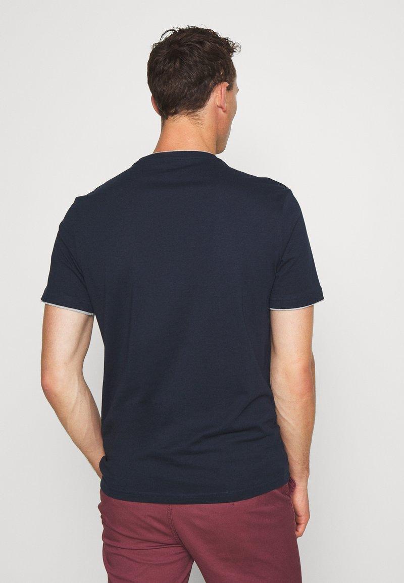 Pier One T-Shirt print - dark blue/dunkelblau fohO8P