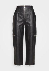 The Ragged Priest - PANTS HEAVY ZIPS - Kalhoty - black - 0