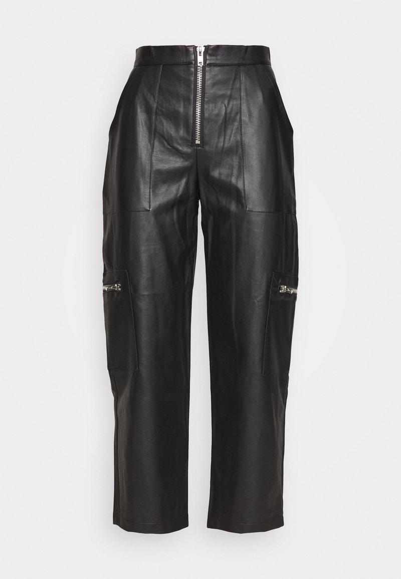 The Ragged Priest - PANTS HEAVY ZIPS - Kalhoty - black