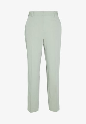 ZALANDO X NA-KD STRAIGHT SUIT PANTS - Trousers - dusty green