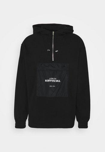 ANORAK - Zip-up sweatshirt - black