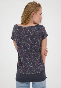 alife & kickin - Print T-shirt - marine - 2