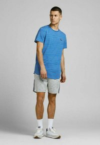 Jack & Jones - SLIM FIT - Print T-shirt - deep water - 1