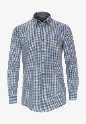 MIT KENT KRAGEN  - Shirt - blau