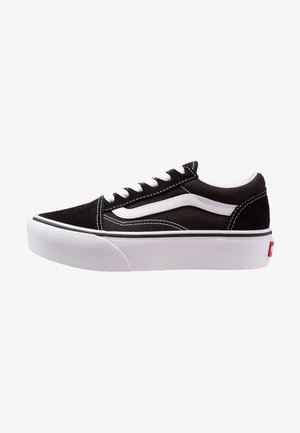 OLD SKOOL PLATFORM - Sneakers laag - black/true white