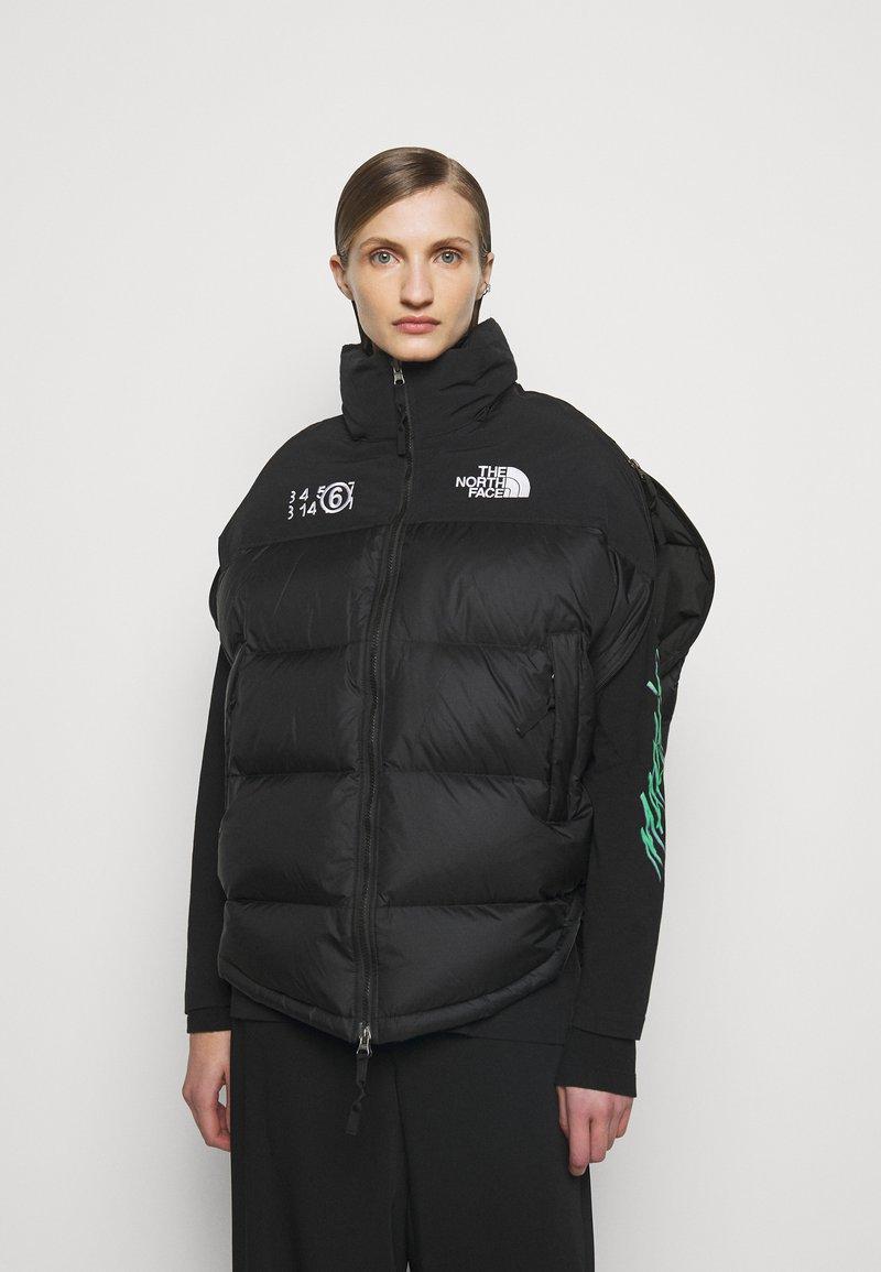 MM6 Maison Margiela - MM6 X THE NORTH FACE COAT - Veste d'hiver - black