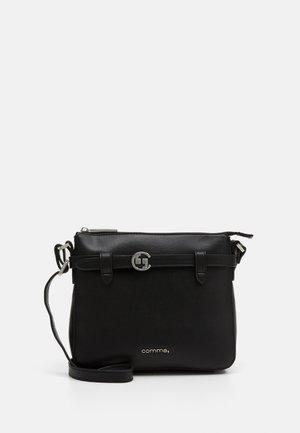 TURN AROUND SHOULDERBAG - Across body bag - black