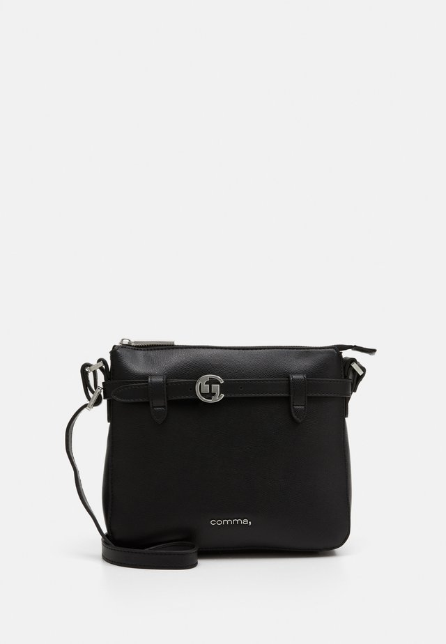 TURN AROUND SHOULDERBAG - Sac bandoulière - black