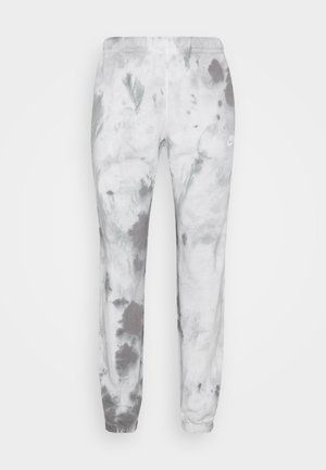 Tracksuit bottoms - smoke grey/iron grey/white
