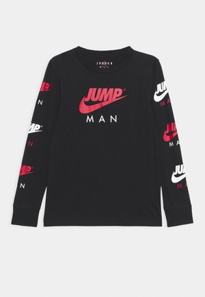 JUMPMAN TRIPLE THREAT - Top s dlouhým rukávem - black