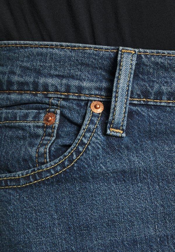 Levi's® 510™ SKINNY - Jeansy Slim Fit - dark indigo - flat finish/niebieski denim Odzież Męska WOFH