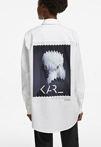 KARL LAGERFELD - LEGEND - Button-down blouse - white - 2