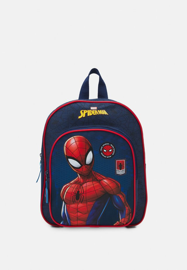 BACKPACK SPIDER MAN BE STRONG UNISEX - Ryggsäck - navy