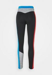 Nike Performance - ONE 7/8 - Medias - black/light photo blue/chile red/black - 7