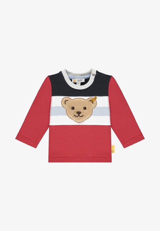 MIT FRÖHLICHEN KONTRASTEN - Sweater - tango red