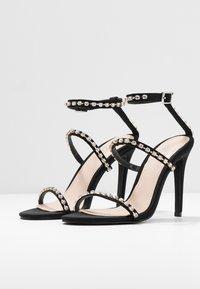 BEBO - SOPHINA - Sandály na vysokém podpatku - black - 4