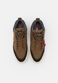 s.Oliver - High-top trainers - brown - 3