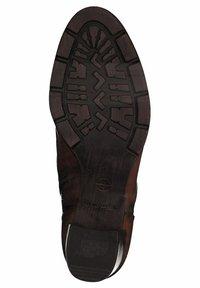 Tamaris - Classic ankle boots - cognac       # - 4