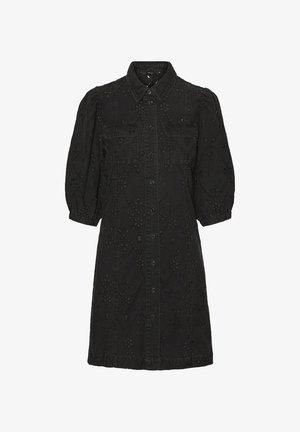 VMJOAN 3/4  - Denim dress - black