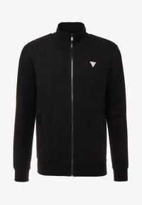 Guess - FOX TRACK  - Zip-up hoodie - jet black - 3