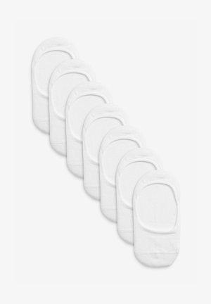 7 PACK  - Trainer socks - white