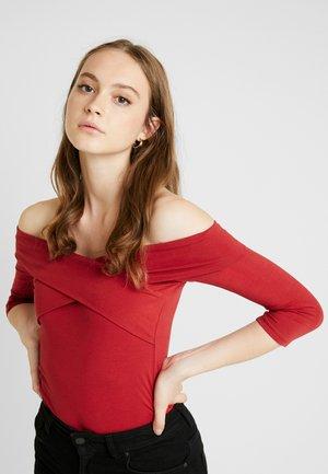 BODYSUIT - Maglietta a manica lunga - red