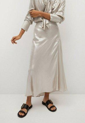 A-line skirt - open beige