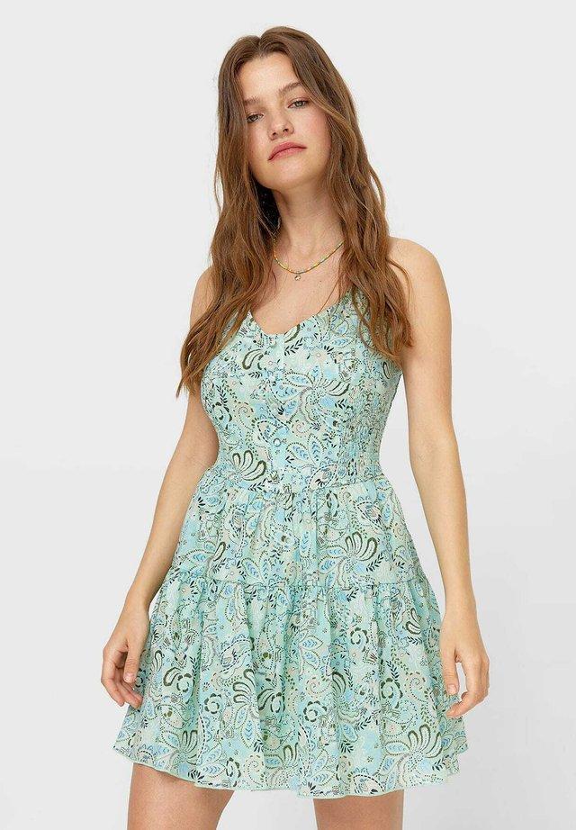 Denní šaty - turquoise