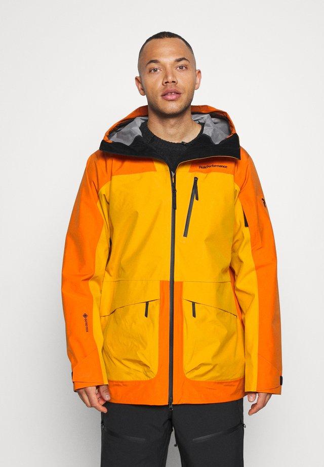 VERTICAL JACKET - Hardshell jacket - orange altitude