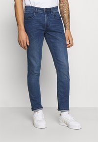 Blend - TWISTER  - Slim fit jeans - denim middle blue - 0