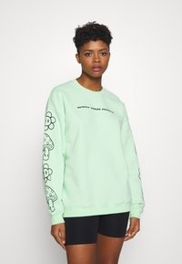 NEW girl ORDER - KNOW YOUR ROOTS - Mikina - green - 0