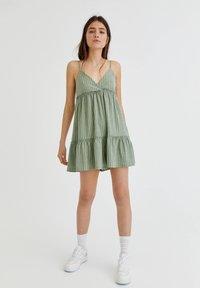 PULL&BEAR - Jumpsuit - green - 1