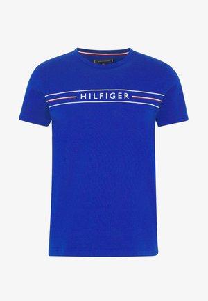 CORP TEE - Print T-shirt - blue