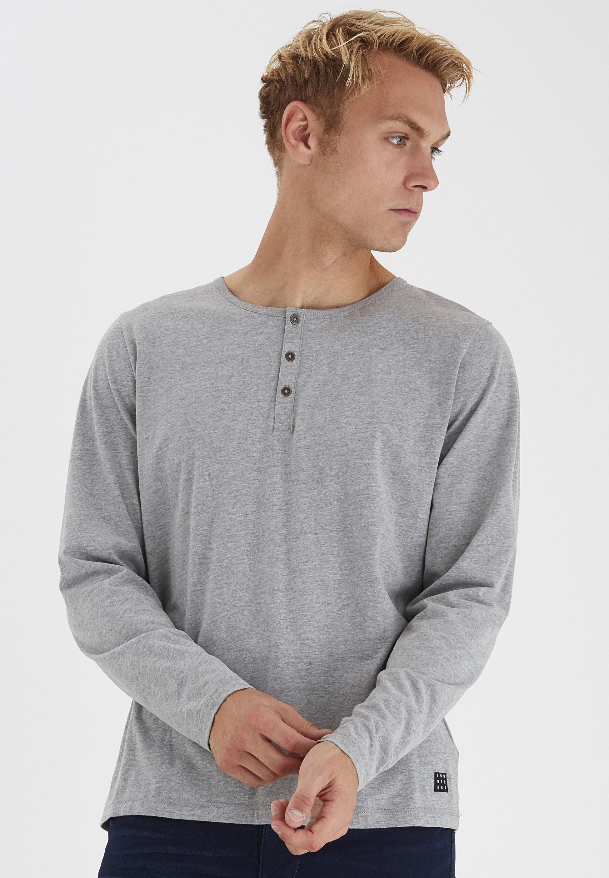 Blend Long sleeved top - stone mix RdOW1