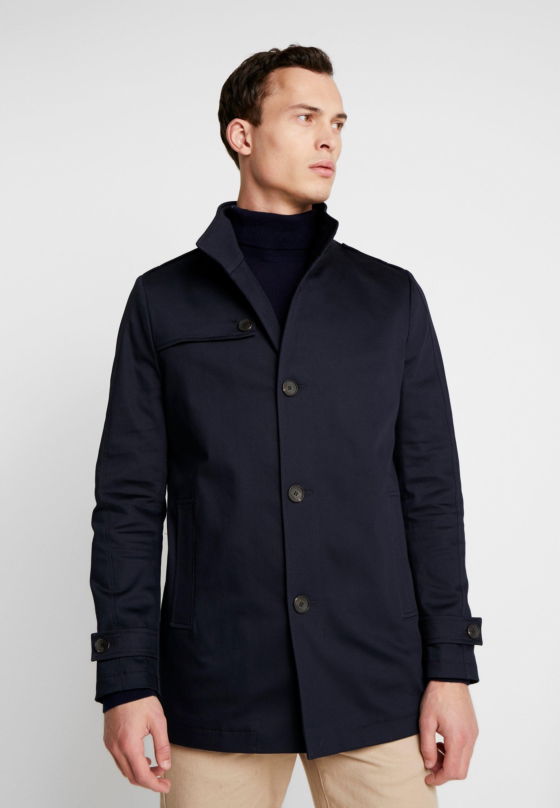 CIGORDON COAT Wollmantelklassischer Mantel dark blue