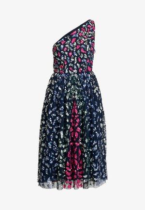 EMBELLISHED ONE SHOULDER MIDI DRESS - Cocktail dress / Party dress - multi
