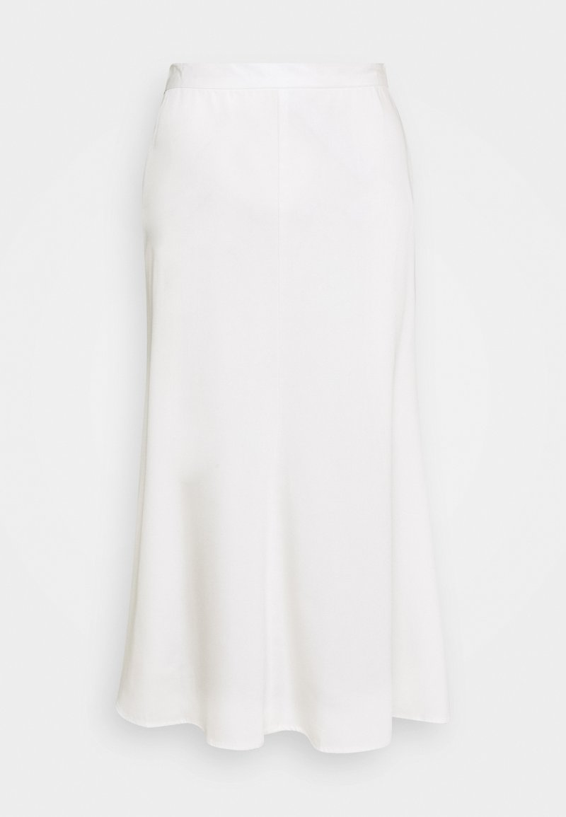 Who What Wear - BIAS FLUTED - A-line skirt - cream